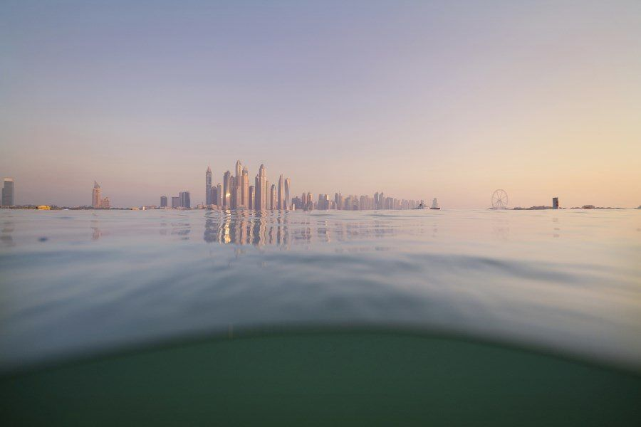 Dubai Photography - The World from The Water - Underwater photos of Dubai