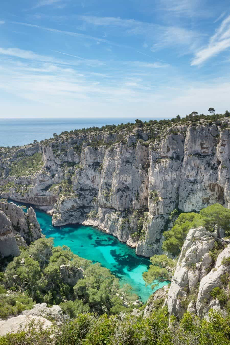 Calanque d'en Vau Places to Photograph in Provence, France