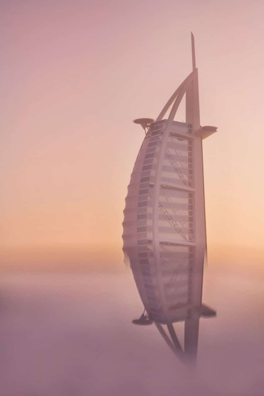 Creating Reflections - Burj al Arab, Dubai