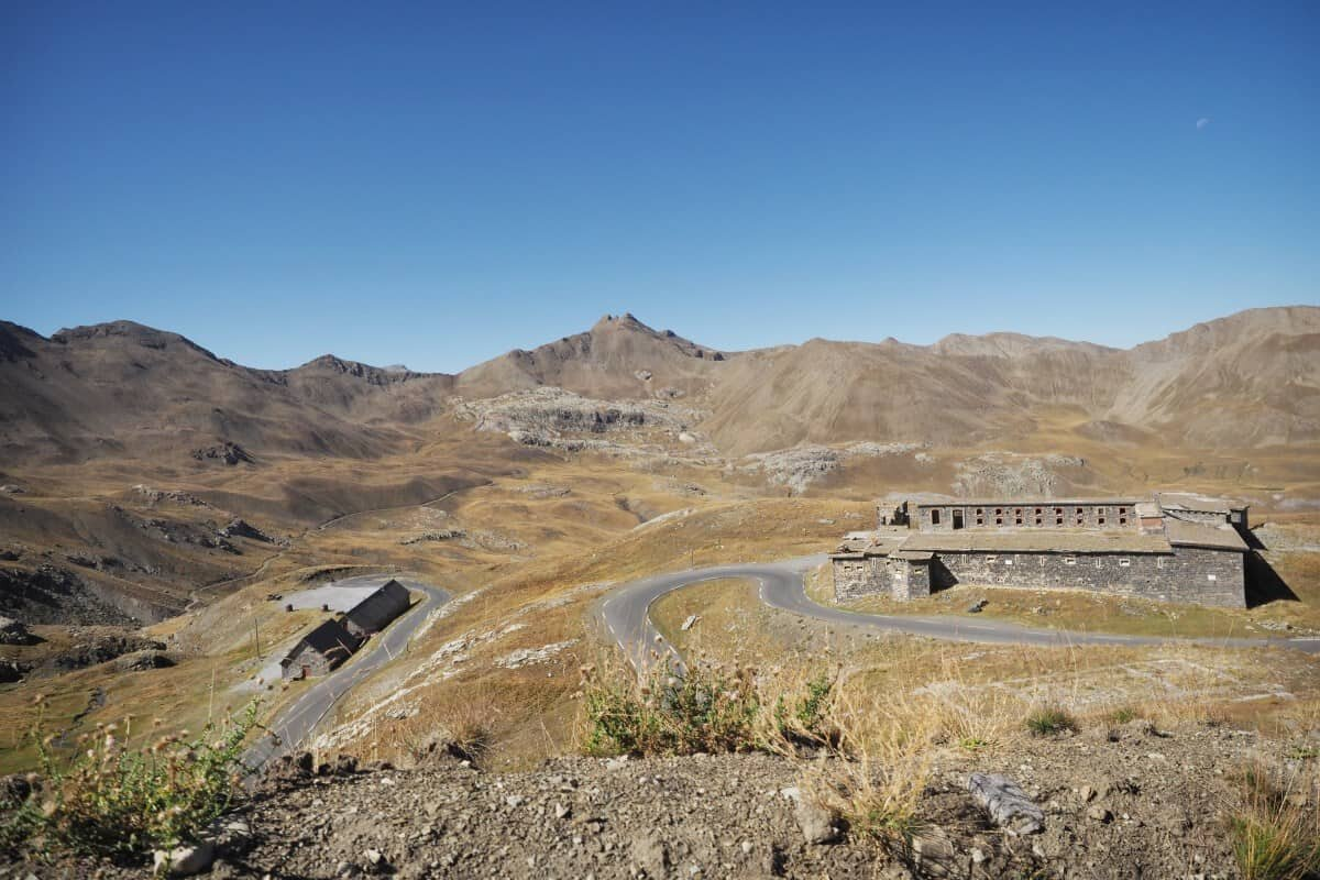 Col de la Bonette, France, the highest road in France.