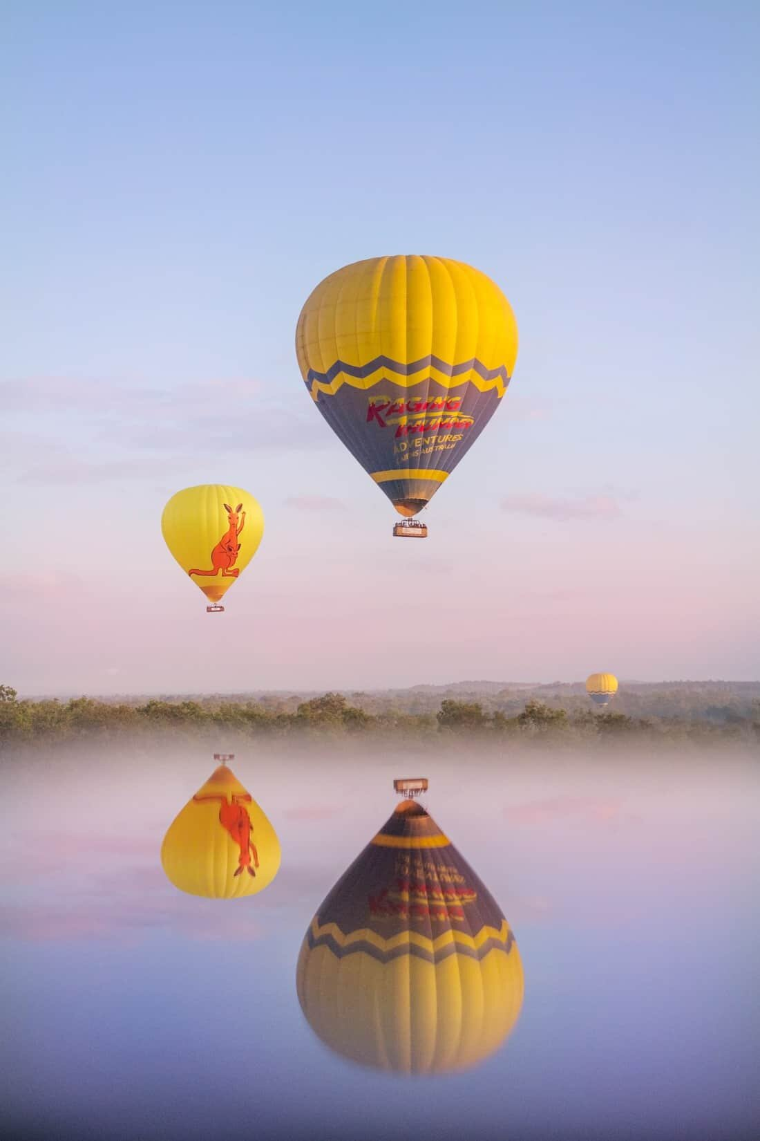 Hot Air Ballooning in Cairns Tropical North Queensland Photography Locations and Beautiful places