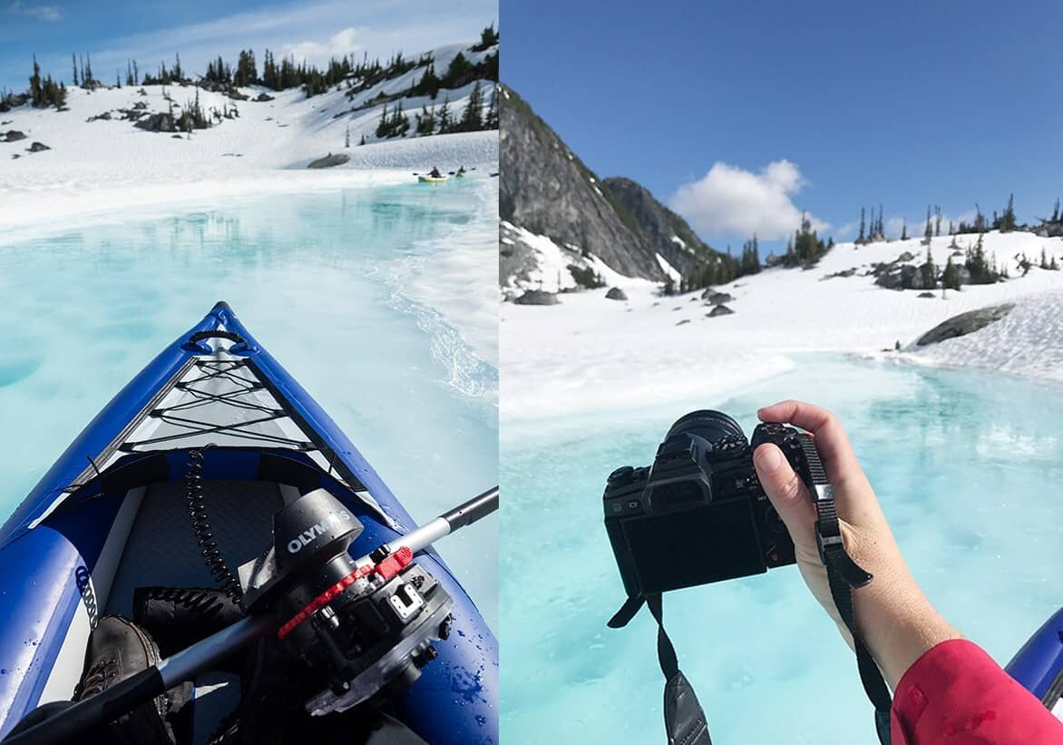 Photographing the glacial lakes of Canada and British Columbia