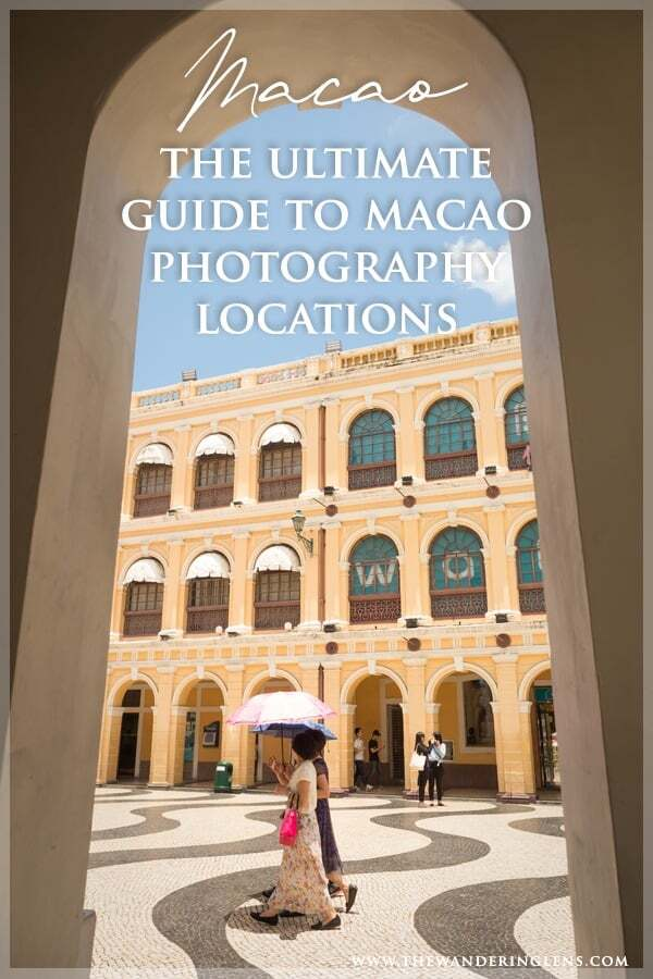 Macao Photography locations - the ultimate guide to Macao photo spots