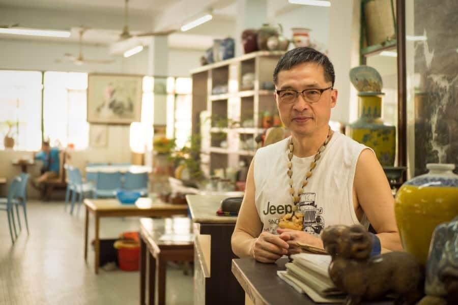Long wa teahouse Macao - Macao photography and food locations