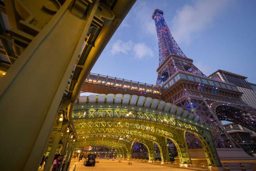 The Parisian Macao - Photography Locations + Casinos