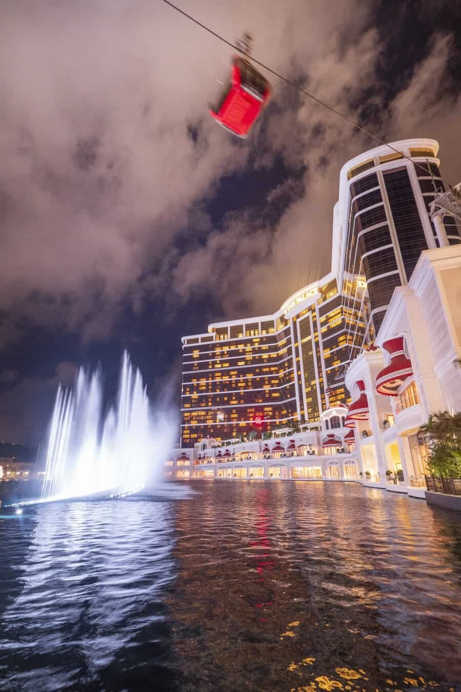 Wynn Macao Fountains - Macao photography locations
