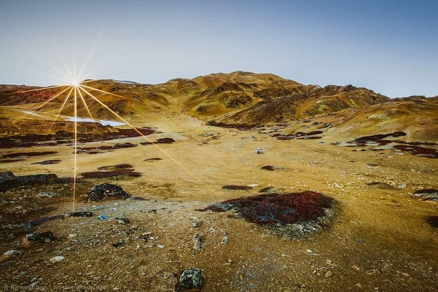 Desert near Uummannaq, Greenland