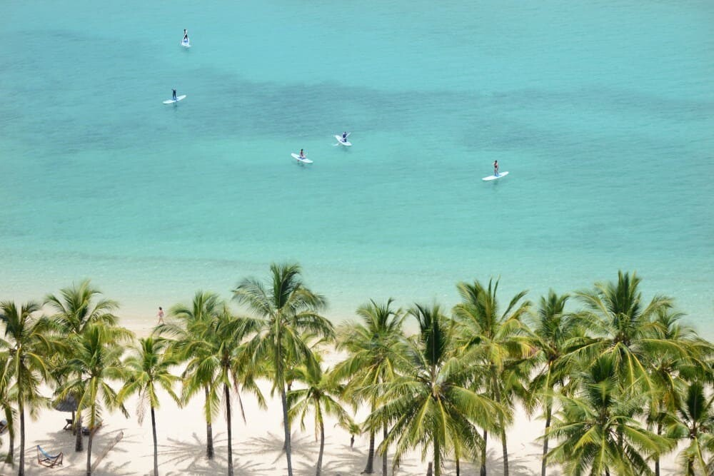 Hamilton Island in the Whitsunday Islands of Queensland, Australia is home to the Great Barrier Reef and lots of photography locations