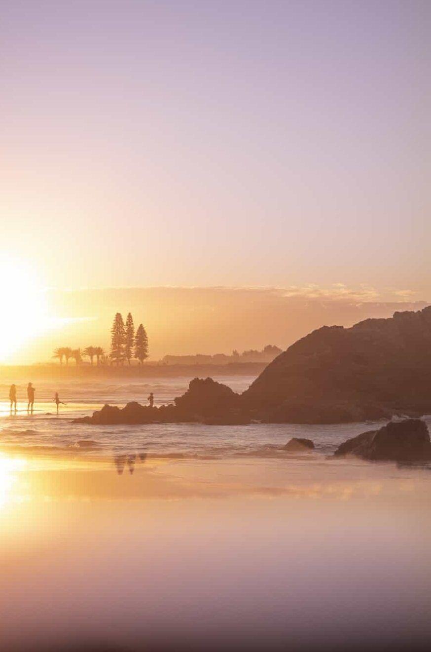Town Beach in Port Macquarie, New South Wales, Australia