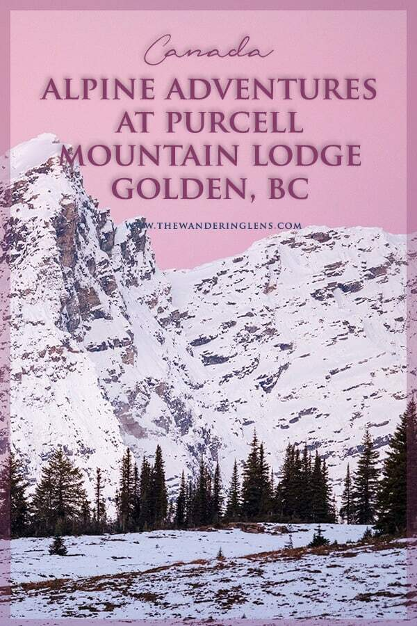 Purcell Mountain Lodge, Golden British Columbia, Canadian Backcountry Lodge and Mountain Lodge.