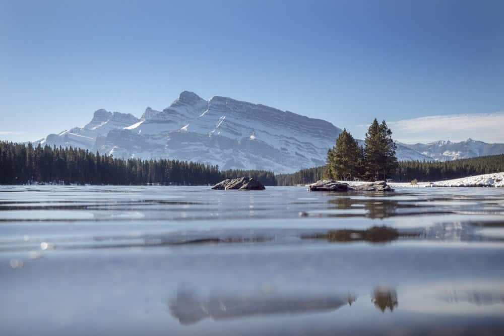Banff National Park Photography Guide - Two Jack Lake
