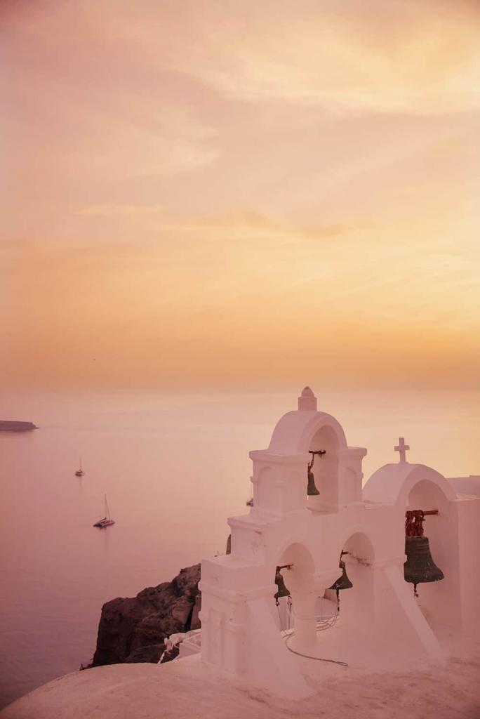 Santorini Sunset Photography
