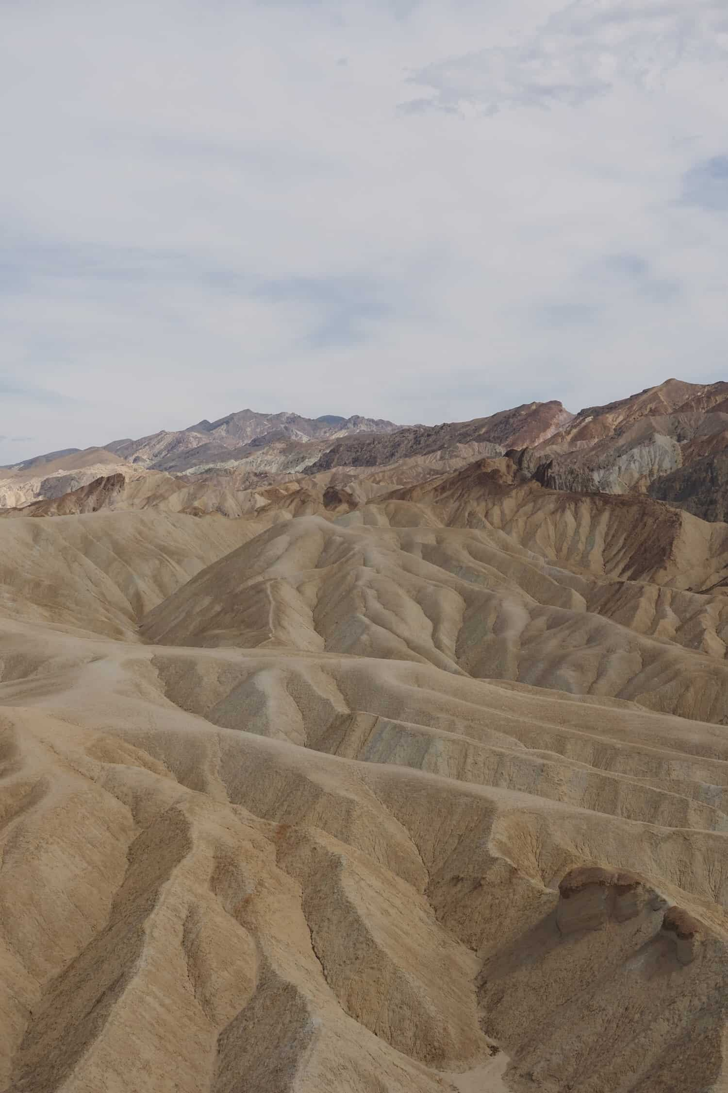 Death Valley National Park - Zabriskie Point-1-2