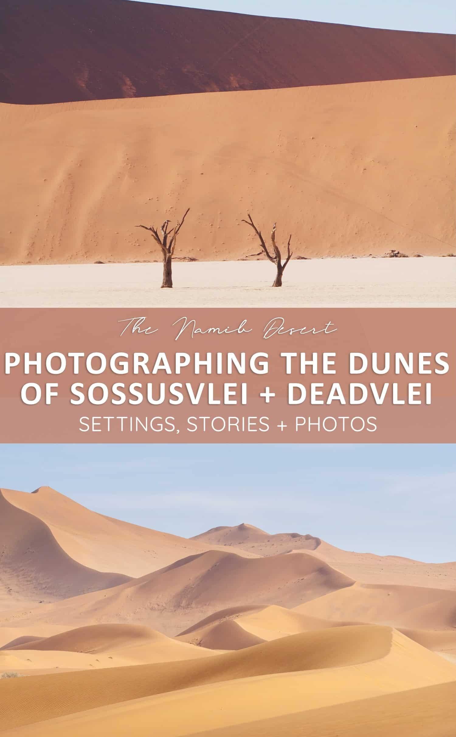 Sossusvlei Sand Dunes Namibia Photography