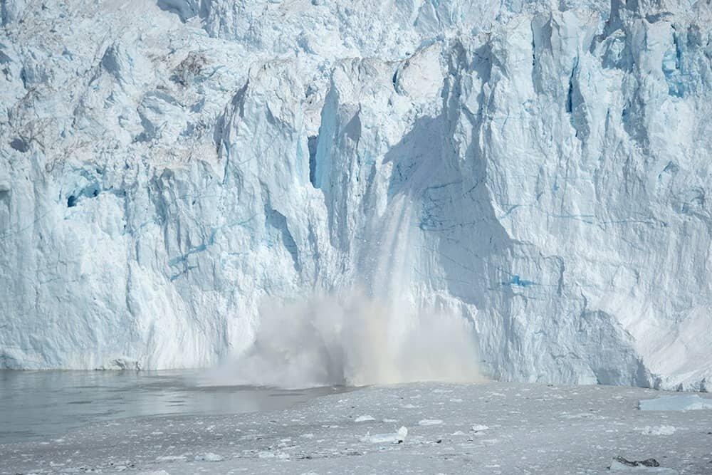 Eqi Glacier Greenland
