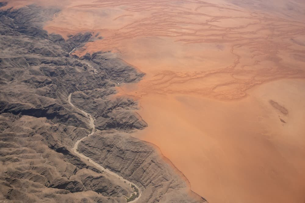 Aerial Photography in Namibia with Olympus