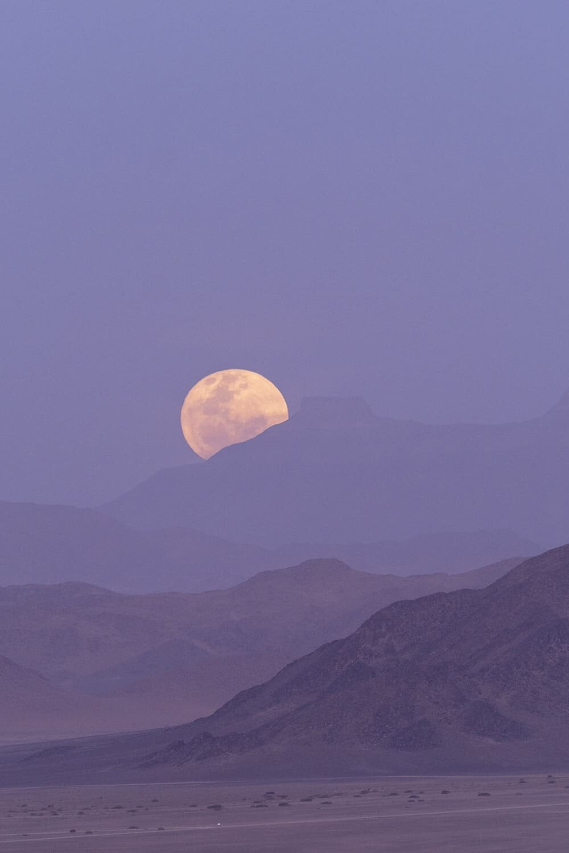 Namibia Full Moon