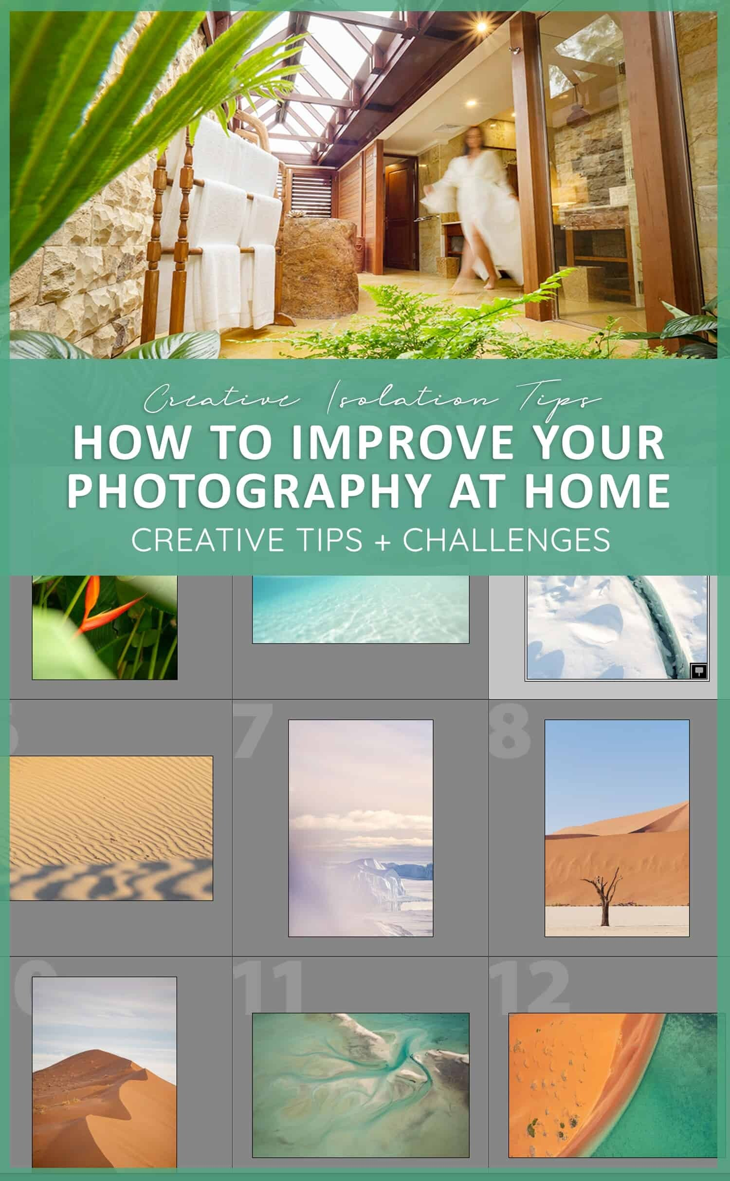 Improve Your Photography at Home