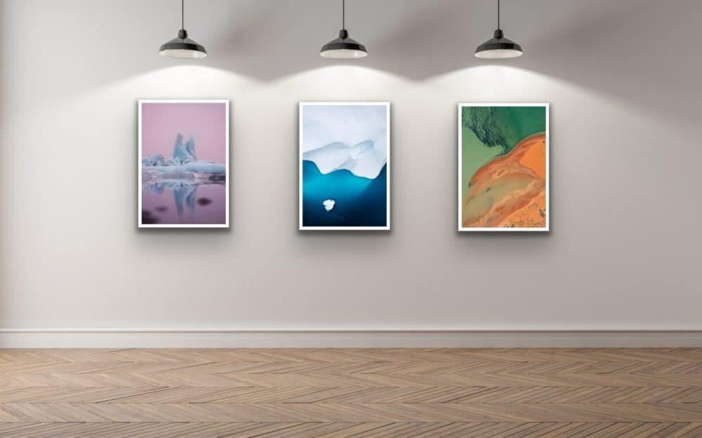Gallery display - Lisa Michele Burns