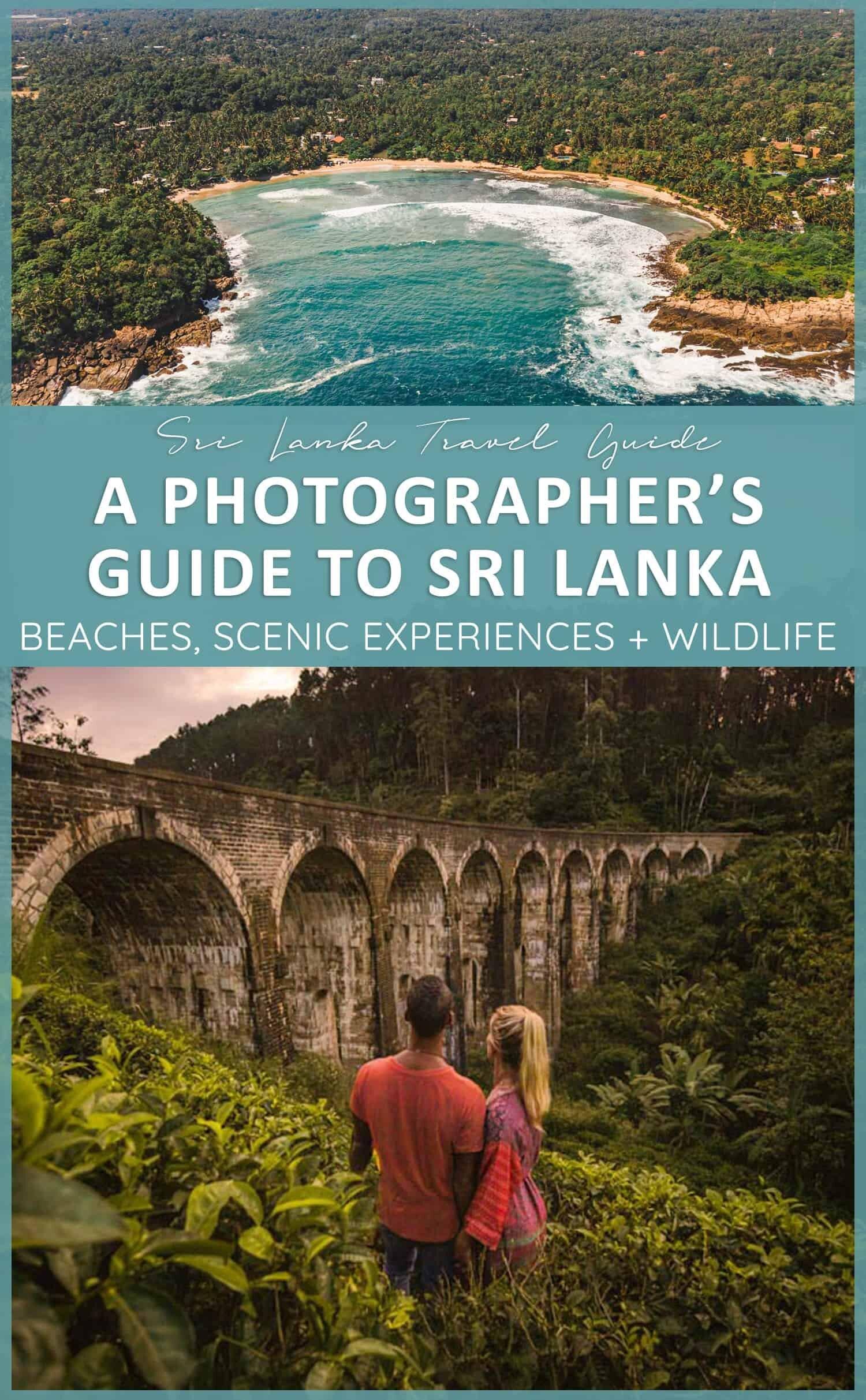 Guide de localisation de la photographie au Sri Lanka