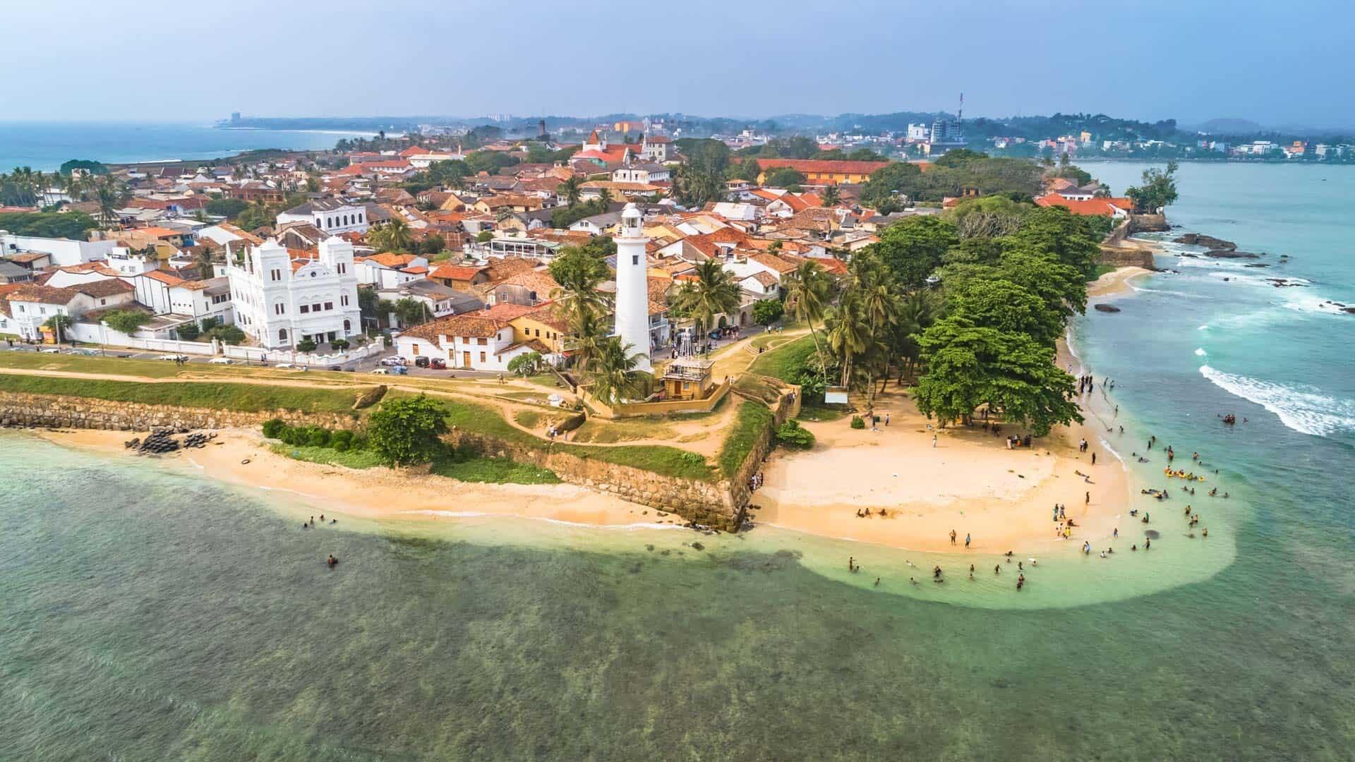 Lieux de photographie au Sri Lanka - Galle Fort