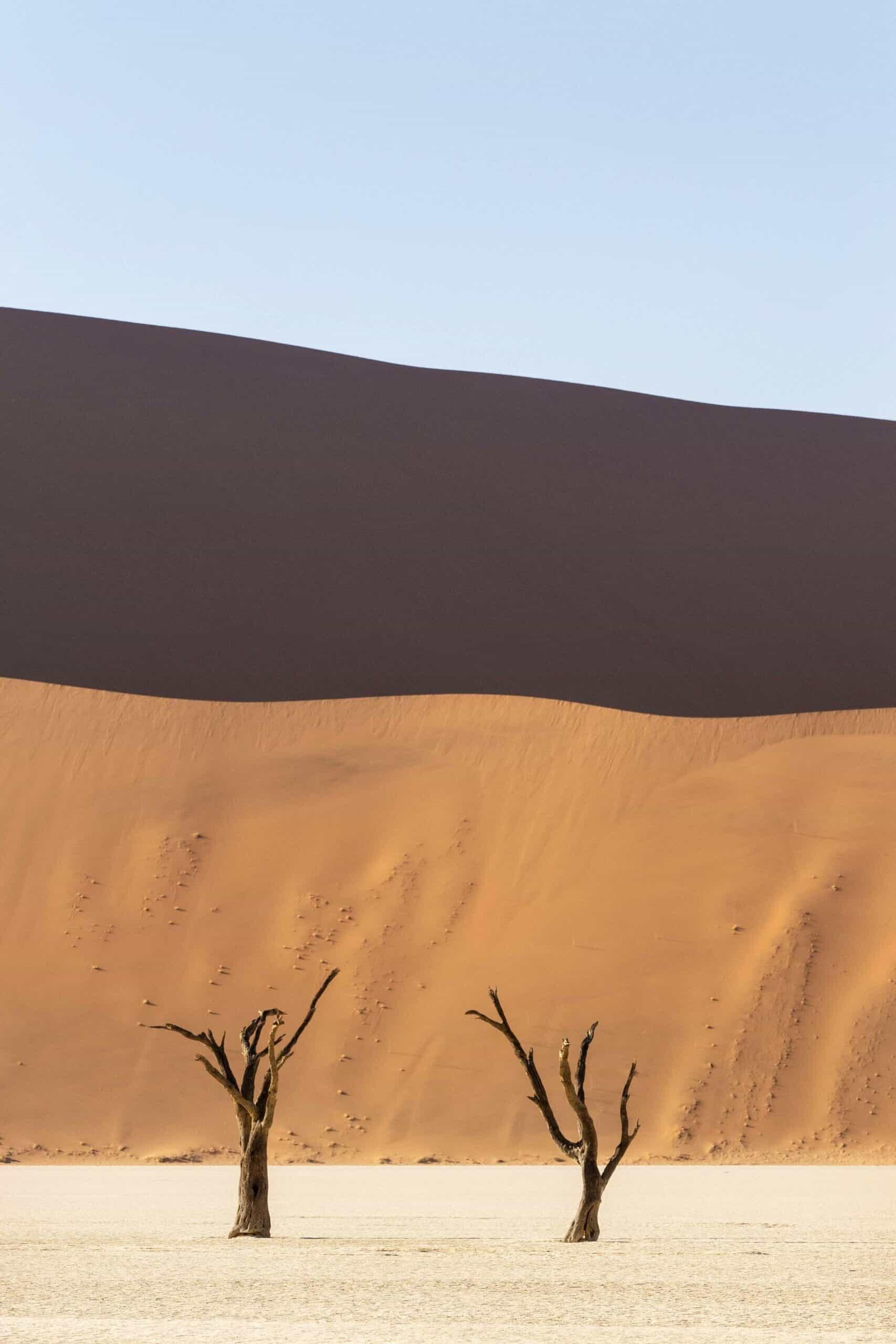 Minimalist Landscape Photography - Namibia