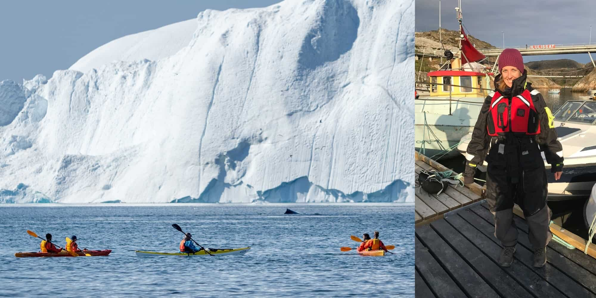 Photographing the icebergs of Ilulissat, Greenland