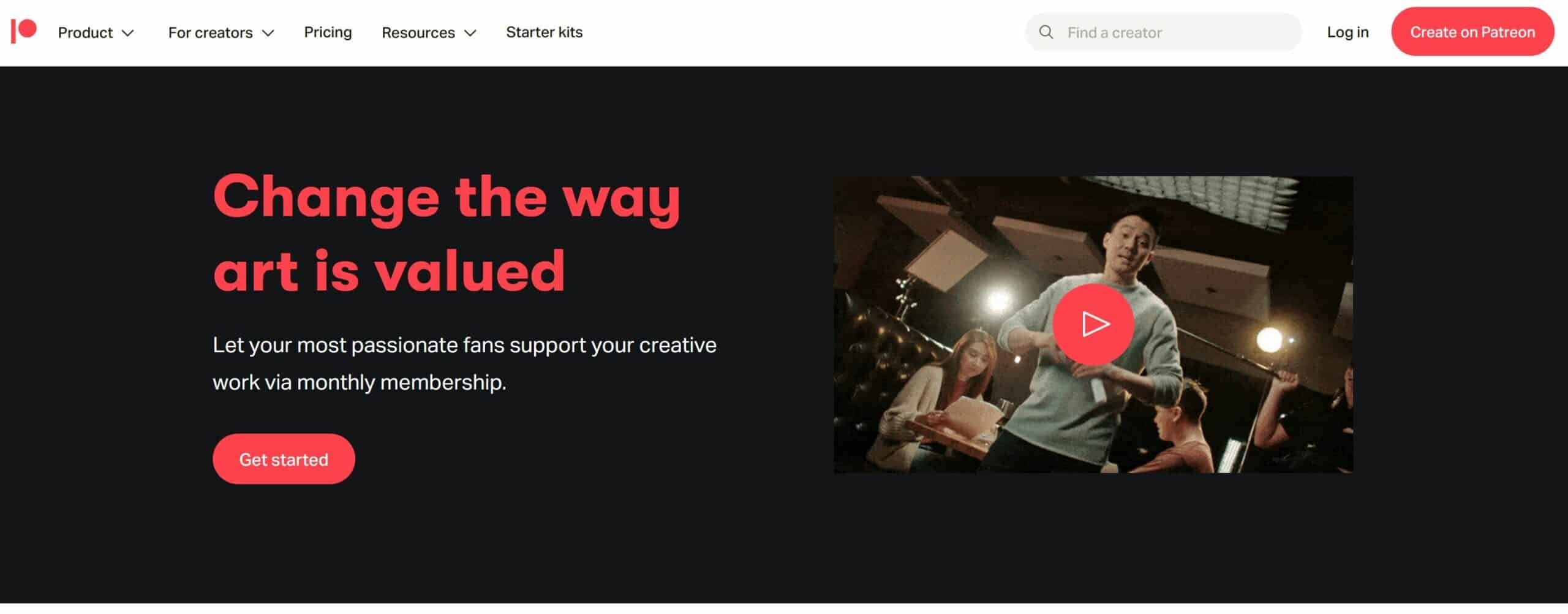 Sell Photos Online with Patreon